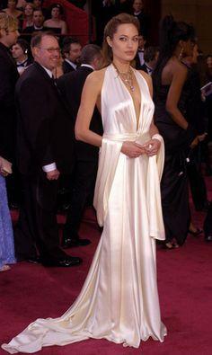 Another favorite Oscar dress, Angelina Jolie in Marc Bouwer.