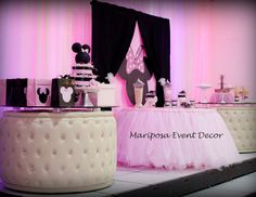 "Minnie Mouse / Baby Shower ""Janet's Baby Shower"" 