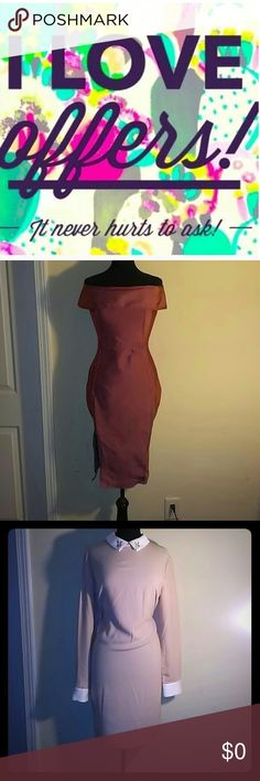 I ALWAYS ACCEPT OFFERS I very rarely will turn down an offer! You see something that you wanna buy but the price is not right.... JUST MAKE ME AN OFFER and it can be YOURS!! Dresses