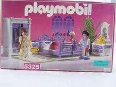 Brand New Playmobil Set 5325 Victorian Mansion Master Bedroom Set 1997 SEALED #PLAYMOBIL