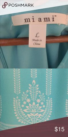 Cute teal shift dress with white detailing! Short shift dress that's simple but cute for summer or warm weather Dresses Mini