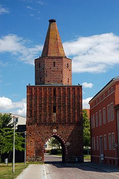 Pasewwalk city gate ...my grgrgrgmother was born here in1818