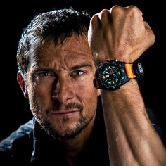 Luminox x Bear Grylls Survival Master Series Rugged Watches, Cool Watches, Watches For Men, Man Vs Wild, Bear Grylls Survival, Us Navy Seals, Time And Tide, Hard Men, Adventure