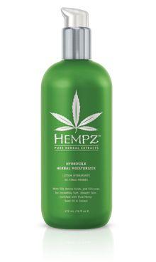 Hempz Hydrosilk Body Moisturizer - seriously the best smelling moisturizer ever!!
