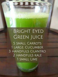 Bright eyed green juice