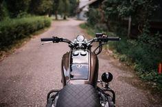 Honda Goldwing GL 1100 Brat Style by Retro Bikes Croatia #motorcycles #bratstyle #motos | caferacerpasion.com