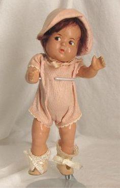 Composition Dolls Antique I Collect