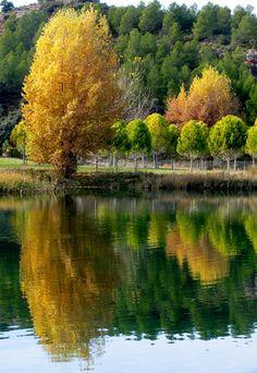 Lagunas de Ruidera    Ossa de Montiel (Albacete) Spain