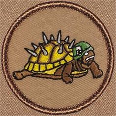 Armored Turtle Patrol Patch (#134)