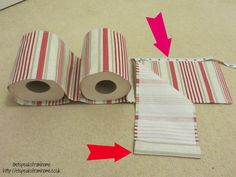 diy fabric toilet paper holder top