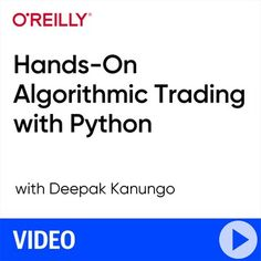 Demonoid - O'Reilly | Hands-On Algorithmic Trading with Python [FCO] O Reilly, Python, Hands