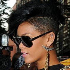 mohawk hairstyles for women | Hot Hairstyles for Black Women with Short Hair