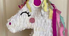 diy Piñata Einhorn unicorn pinata basteln