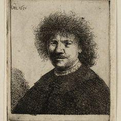 Rembrandt, zelfportret (B 15), 1631. Teylers Museum