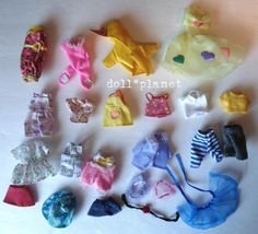 KELLY DOLL CLOTHES  Mattel Fashions - Top Skirt Dress Hat Pants - Big Lot #1 #Mattel #Clothing