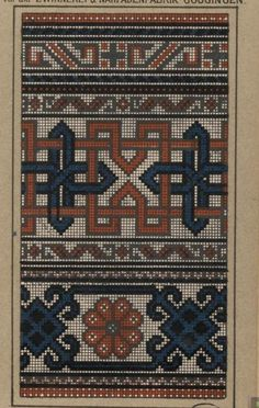 Cross Stitching, Cross Stitch Embroidery, Cross Stitch Patterns, Palestinian Embroidery, Bead Crochet Rope, Knitting Designs, Rugs On Carpet, Needlework, Quilts