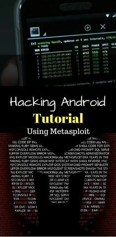 hacking computer technology - Hacking Android Smartphone Using MetaSploit Step By Step Tutorial New Android Phones, Android Phone Hacks, Cell Phone Hacks, Smartphone Hacks, Android Smartphone, Android Box, Hacking Sites, Learn Hacking, Hacking Lessons