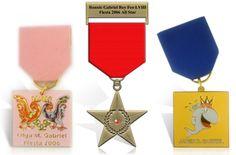 Fiesta Medal Pins