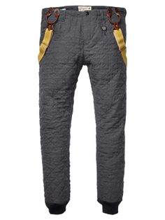 Scotch & Soda - Quilted Padded Pants