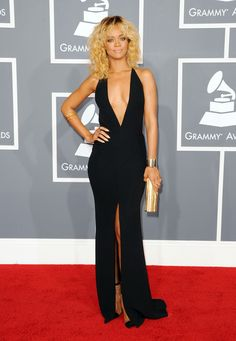 Rihanna in Giorgio Armani - The Most Gorgeous Red Carpet Gowns of 2012 - StyleBistro