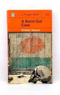 Burnt Out Case by Graham Greene vintage Penguin paperback 1963 classical novel Vintage Penguin, Graham Greene, Penguin Classics, Book Cover Art, Paperback Books, Vintage Books, Comedians, Penguins, Burns