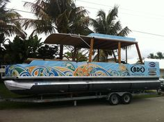 Houseboat Graphics Gallery Boat Names Pontoon Boat - Modern custom houseboat graphics