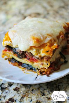 This is the most AMAZING Butternut Squash Lasagna you'll ever make and taste from FrySauceandGrits.com