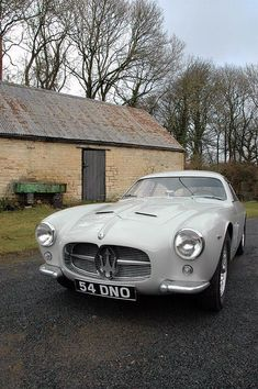 1956 Maserati A6G/54 Zagato Coupé #maserativintagecars #maseraticlassiccars
