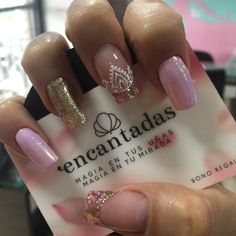 Uñas Get Nails, Love Nails, Pink Nails, Perfect Nails, Gorgeous Nails, Pretty Nails, Shellac Nails, Manicure And Pedicure, Pointed Nails