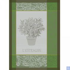 Garnier Thiebaut Estragon Vert Towel