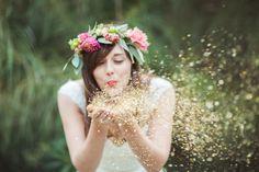glitter wedding inspiration24 - Polka Dot Bride
