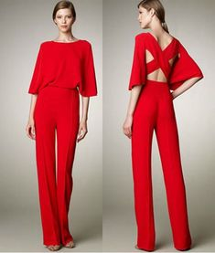 %name 41 Stylish Womens Jumpsuit Outfits Jumpsuit Outfit, Red Jumpsuit, Jumpsuit Elegante, Look Girl, Overall, Mode Style, Jumpsuits For Women, Evening Dresses, Dress Up