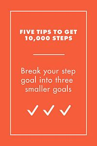 Ever since I got my fitbit I've become obsessed with walking. It's challenging and fun to try and get 10,000 steps on the pedometer everyday and once you've hit that goal a few times you'll be challenging...