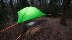 """jebiga-design-magazine: """"Tentsile Vista Tree Tent Suspend yourself above ground with one of these, now more affordable than before. """""""