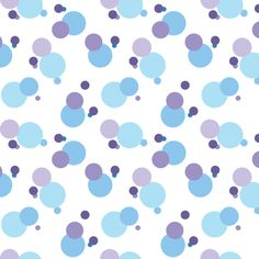Crazy Dots on White fabric by buzzellis on Spoonflower - custom fabric