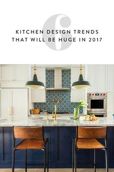 Whether you're in the market for a renovation or not, it's good to stay up on what's hot..and what's not in kitchen design trends. Here are the top six trends of 2017.