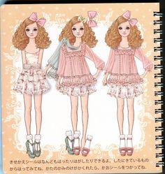Oshare Note Liz Lisa - Art by Naoki Watanabe