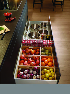 The Most Popular Kitchen Storage Ideas on Houzz Cool And Contemporary kitchen pantry storage furniture made easy - Kitchen Furniture Storage Best Kitchen Designs, Modern Kitchen Design, Interior Design Kitchen, Kitchen Contemporary, Home Decor Kitchen, Diy Kitchen, Kitchen Furniture, Kitchen Lamps, Awesome Kitchen
