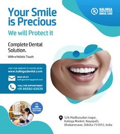 KALINGA DENTAL Hospital has expanded its presence in Bhubaneswar by setting up a dental hospital in Madhusudhan Nagar, Nayapali. Considered one of the best dental hospitals in Bhubaneswar, it offers services in basic specialties of dental implants, root canal, full gum, apart from that we have a team of guest consultants to maintain a solution dental standard and complete in our clinic.! Dentist Near Me, Best Dentist, Dental Care For Kids, Dental Hospital, Root Canal, Dental Implants, Hospitals, A Team, Clinic