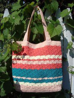 Crochet Inspiration - Sweet Pea Tote