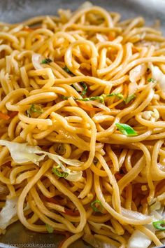 lo-mein-copycat-takeout-recipe-easy-lo-mein-alyonascooking-lo-mein-recipe- - Food and Drink Asian Noodle Recipes, Easy Chinese Recipes, Instant Pot Chinese Recipes, Homemade Chinese Food, Rice Noodle Recipes, Chinese Restaurant, Asian Cooking, Cookies Et Biscuits, Copycat Recipes