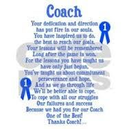 Thank You Coach Quotes  Google Search   Team Mom Ideas