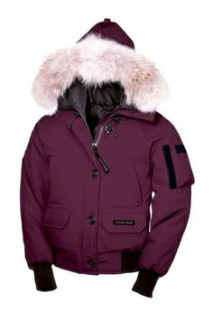 Canada Goose Chilliwack Parka Women Berry Enjoy Free Tax - $259