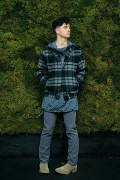 Hot mens fashion trends Fall/Winter 2015 muted blues and flannel   #nonnative 2015 Fall/Winter Lookbook  #Japanesedesigners #japanfashion #japanfashionbrands #menswear #gq #bespoke #outerweartrends #mensfashiontrends2015 #mensfashionweekny #dapper #thesource #daily #complex #hypebeast #mens #streetluxe #streetwear  #stylebytamoralee #wwd #mensouterweartrends2015