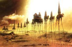Caravan by Salvador Dali