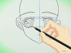 Imagem intitulada Draw Manga Faces in Basic Sketching Step 8
