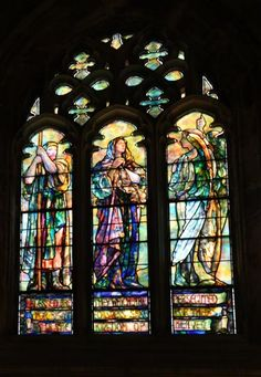 Fairhaven Memorial Church: Stained Glass Windows