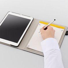 エレコム、タブレットと紙ノートを一緒に持ち運べるケースなど6モデル