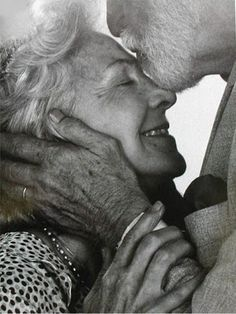 when I grow old, we will still love each other daily, even more so than today