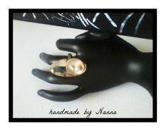 Δαχτυλίδι MAR   myartshop Αρζαντό-μπρούτζος και μαργαριτάρι
